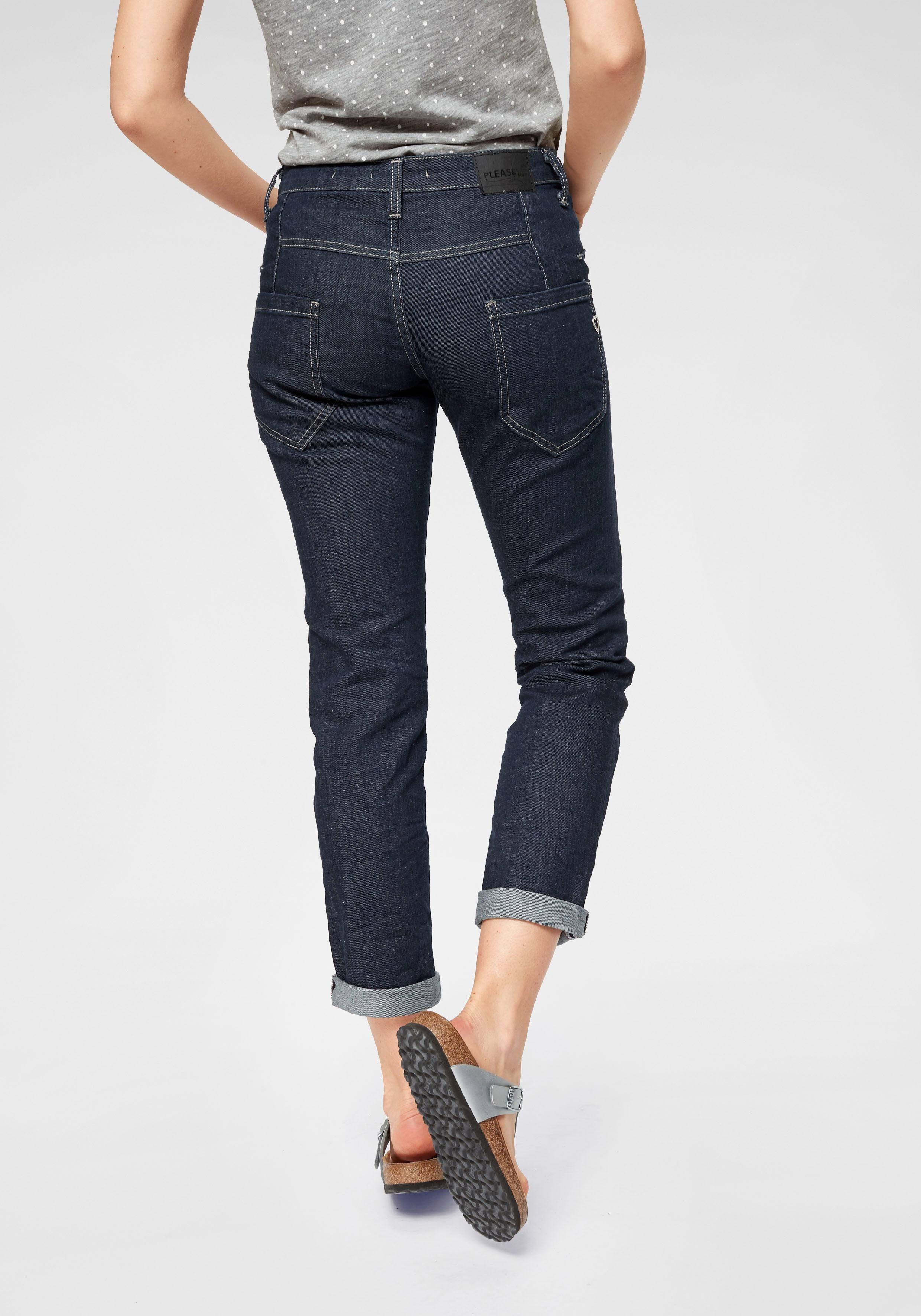 Please Jeans Boyfriend Jeans »P85A« Knöchellang   OTTO