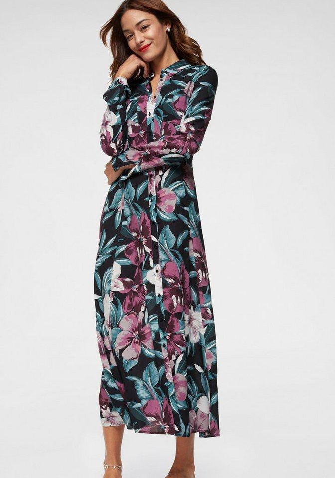 innovative design 80016 7e663 Mavi Maxikleid im pastellfarbenem Tropical-Design | OTTO