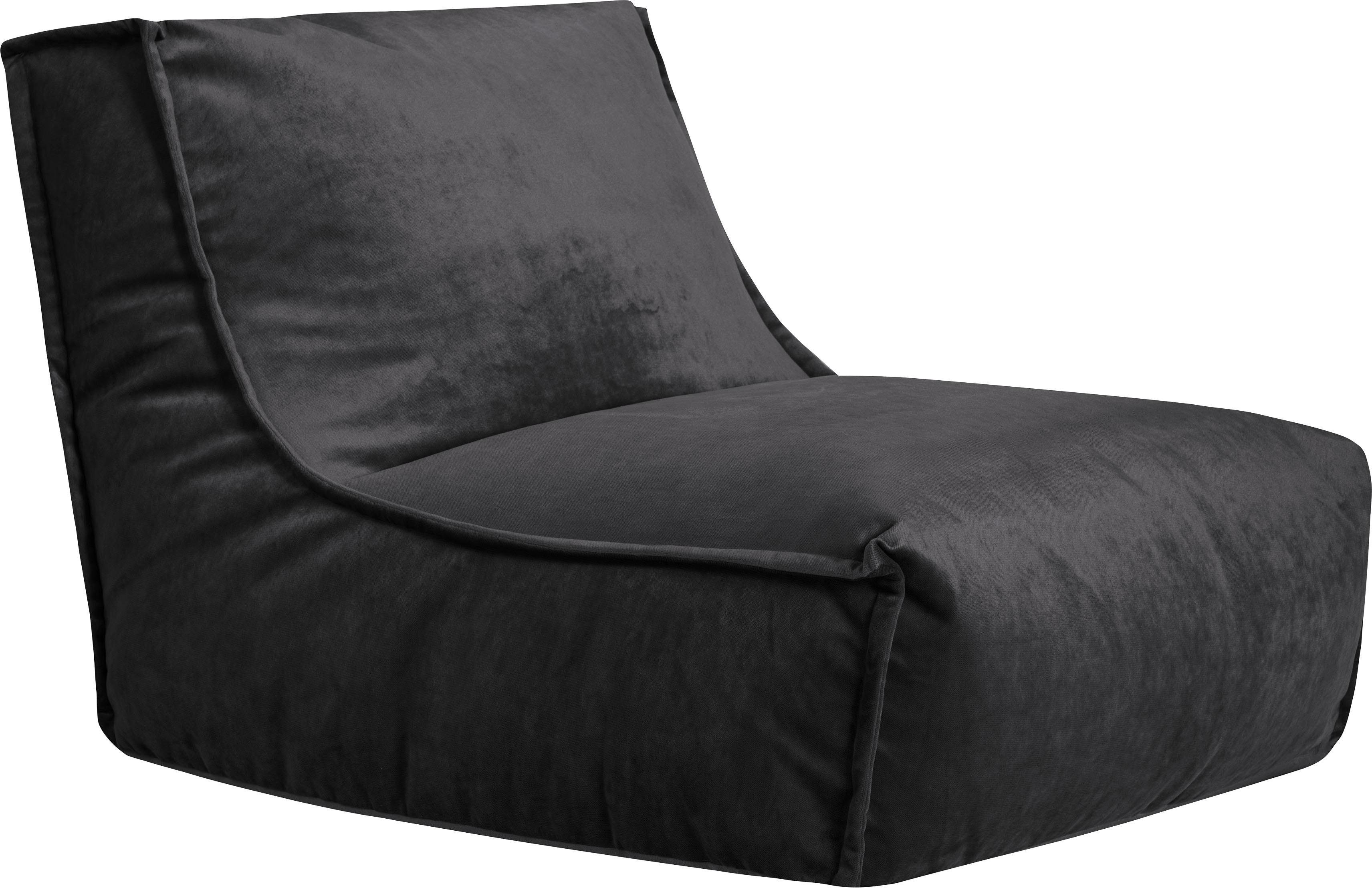 Sitting Point Sitzsack »Blues VELUTO«Samt 100% Polyester