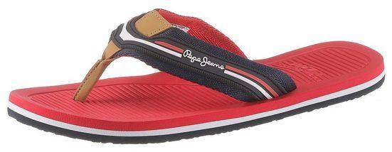 Pepe Jeans »Off Beach« Zehentrenner in stylischer Farbgebung