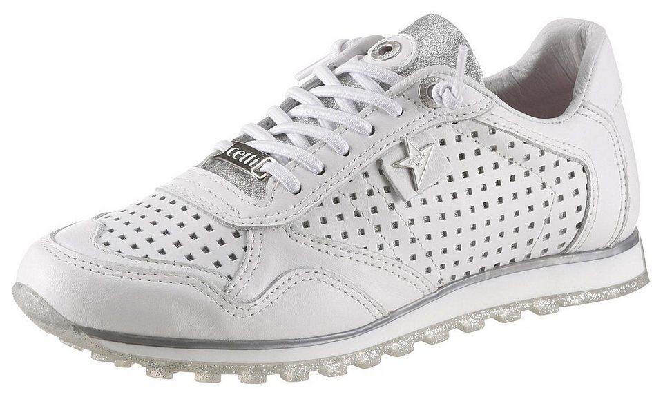 ce1418aecc2004 Cetti Sneaker mit feinem Glitzerbesatz kaufen