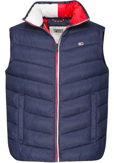 7abcdd6fa897bc TOMMY JEANS Steppweste »TJM ESSENTIAL PUFFER VEST«