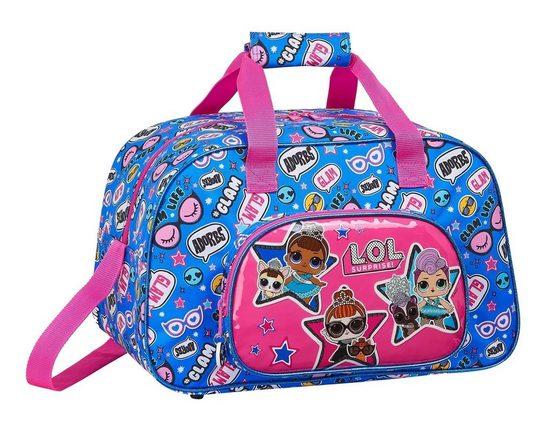 LOL Surprise Sporttasche »LOL Surprise - Sporttasche, 40x24x23 cm« (Reißverschluss, Mädchen), Geringes-Gewicht