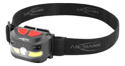 ANSMANN® LED Stirnlampe »Akku LED Kopflampe 250 Lumen Sensor gesteuert - Stirnlampe HD250RS«