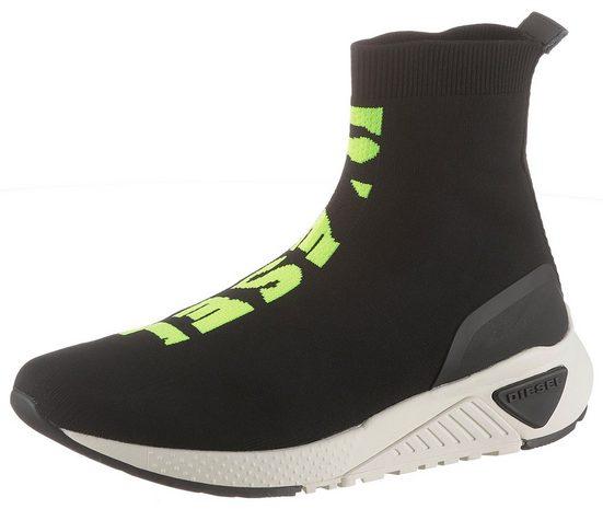 Diesel »S-KB MID ATHL SOCK« Sneaker im sockwear Look