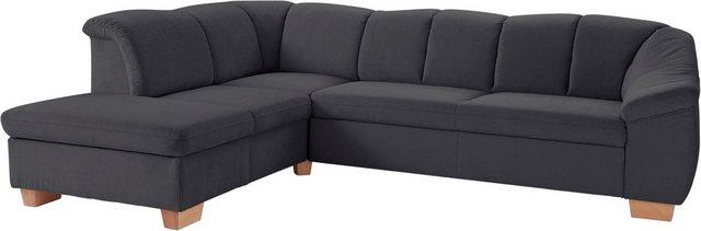 sit&more Ecksofa, mit Federkern, wahlweise mit Bettfunktion und Stauraum | Wohnzimmer > Sofas & Couches > Ecksofas & Eckcouches | sit&more