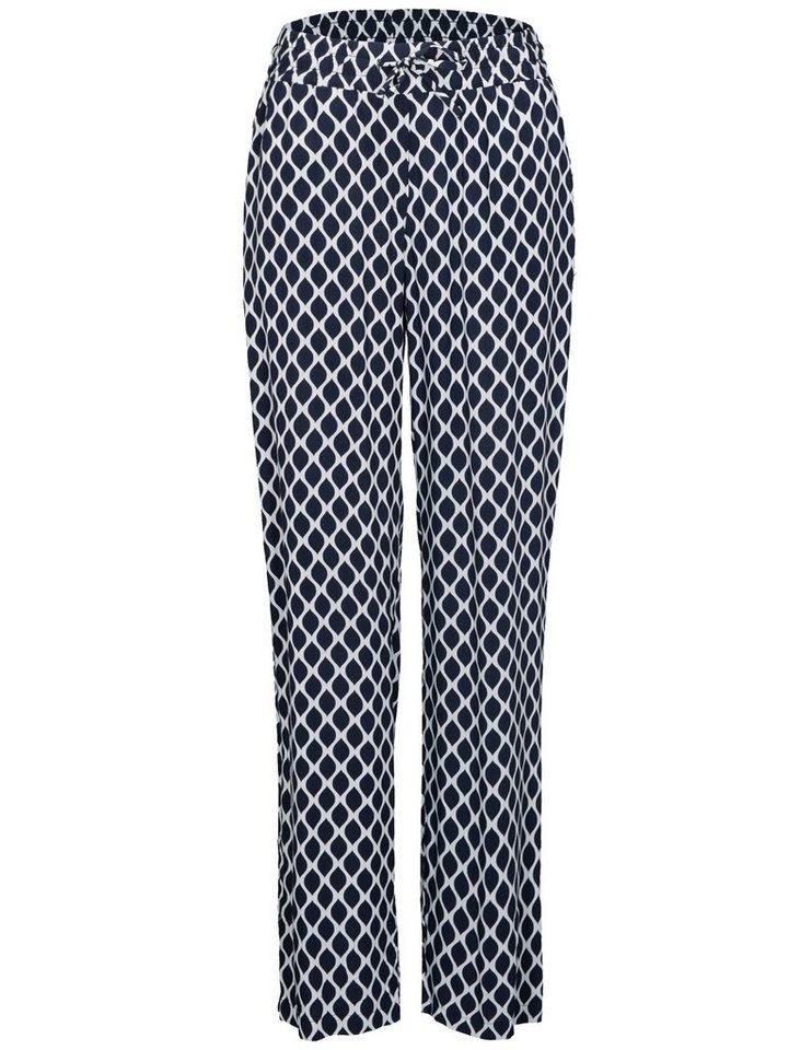 new style bfd18 71934 clarina-stoffhose-mit-elastischen-bund-marine.jpg  formatz
