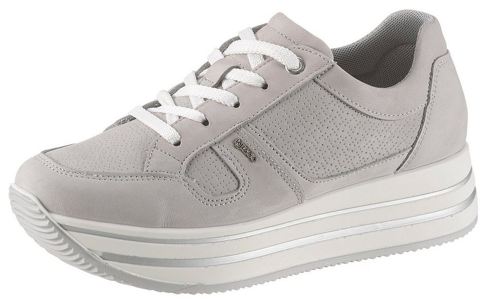 outlet store d9631 c3020 igi-co-kay-plateausneaker-im-sportiven-look-offwhite.jpg  formatz