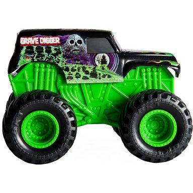 Spin Master Monster Jam Rev & Roar Trucks 1:43 Grave Digger