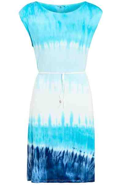 khujo Jerseykleid »SARASOTA« aus weichem Jersey im Batik-Look