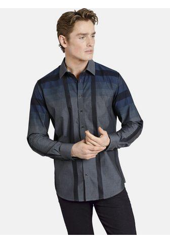SHIRTMASTER Рубашка с длинными рукавами »bla...