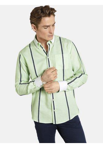 SHIRTMASTER Dryžuoti marškiniai »greenmelon«