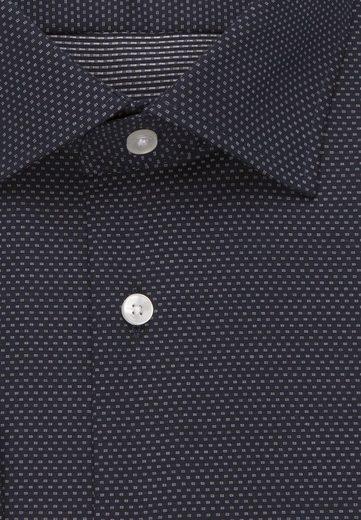 Kent Langarm Businesshemd »slim« Uni kragen Slim Seidensticker I08R8q
