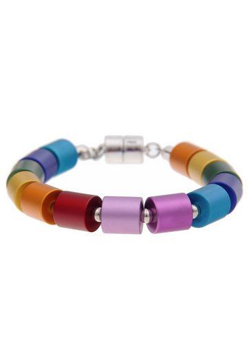 leslii Armband »Premium Quality Zylinder-Mix Bunt, 260115060«