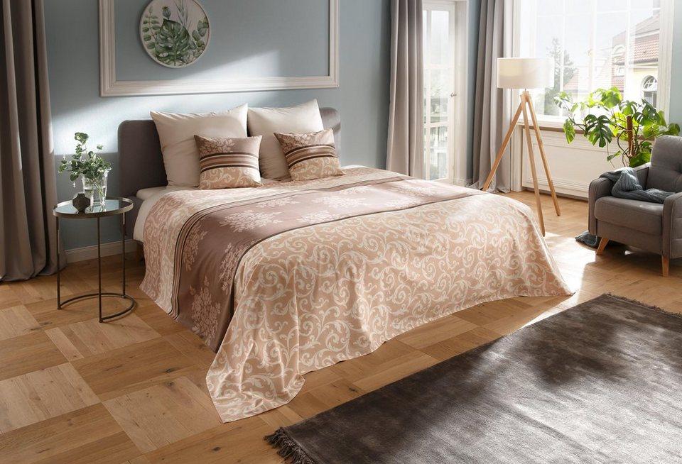 tagesdecke bela my home auch als tischdecke und sofa berwurf einsetzbar online kaufen otto. Black Bedroom Furniture Sets. Home Design Ideas