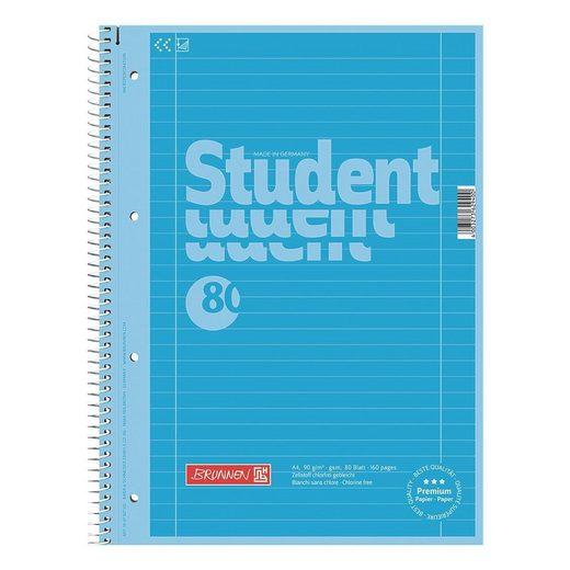 BRUNNEN Collegeblock »Student Colour Code«
