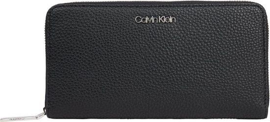 Calvin Klein Geldbörse »NEAT Z/A WALLET LG«, mit praktischer Einteilung