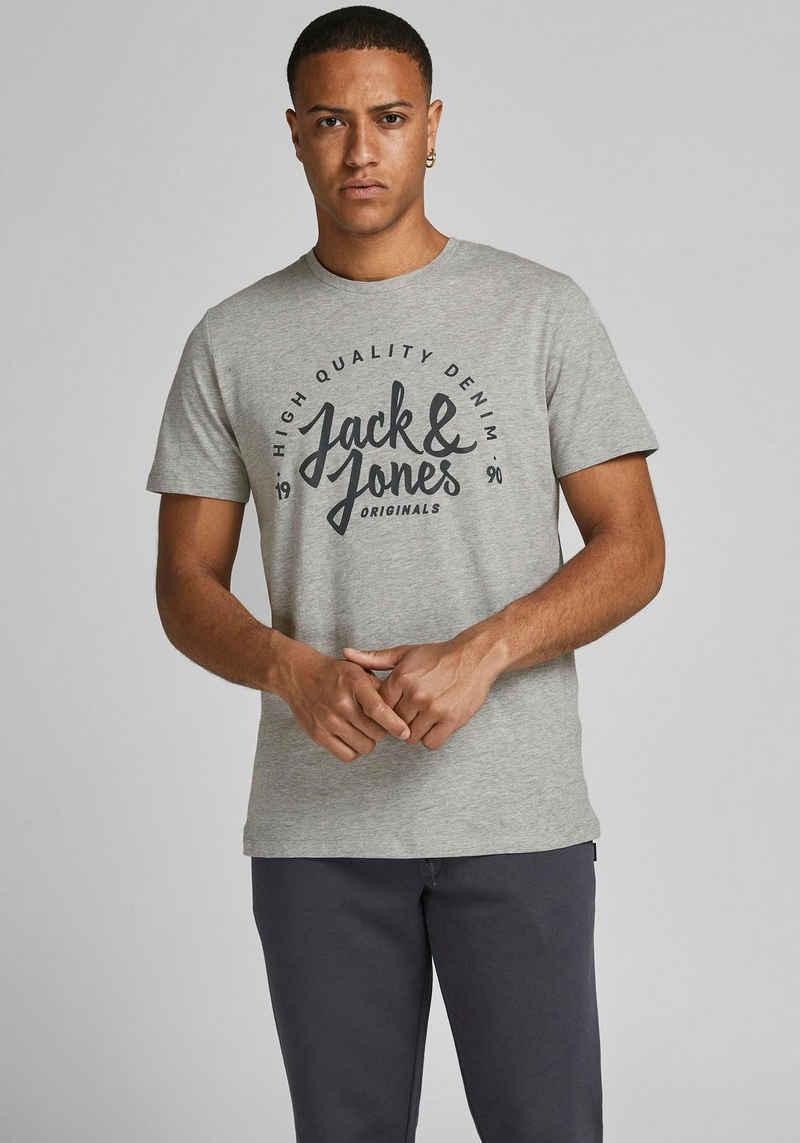 Jack & Jones T-Shirt »KIMBEL TEE BIG CREW NECK«
