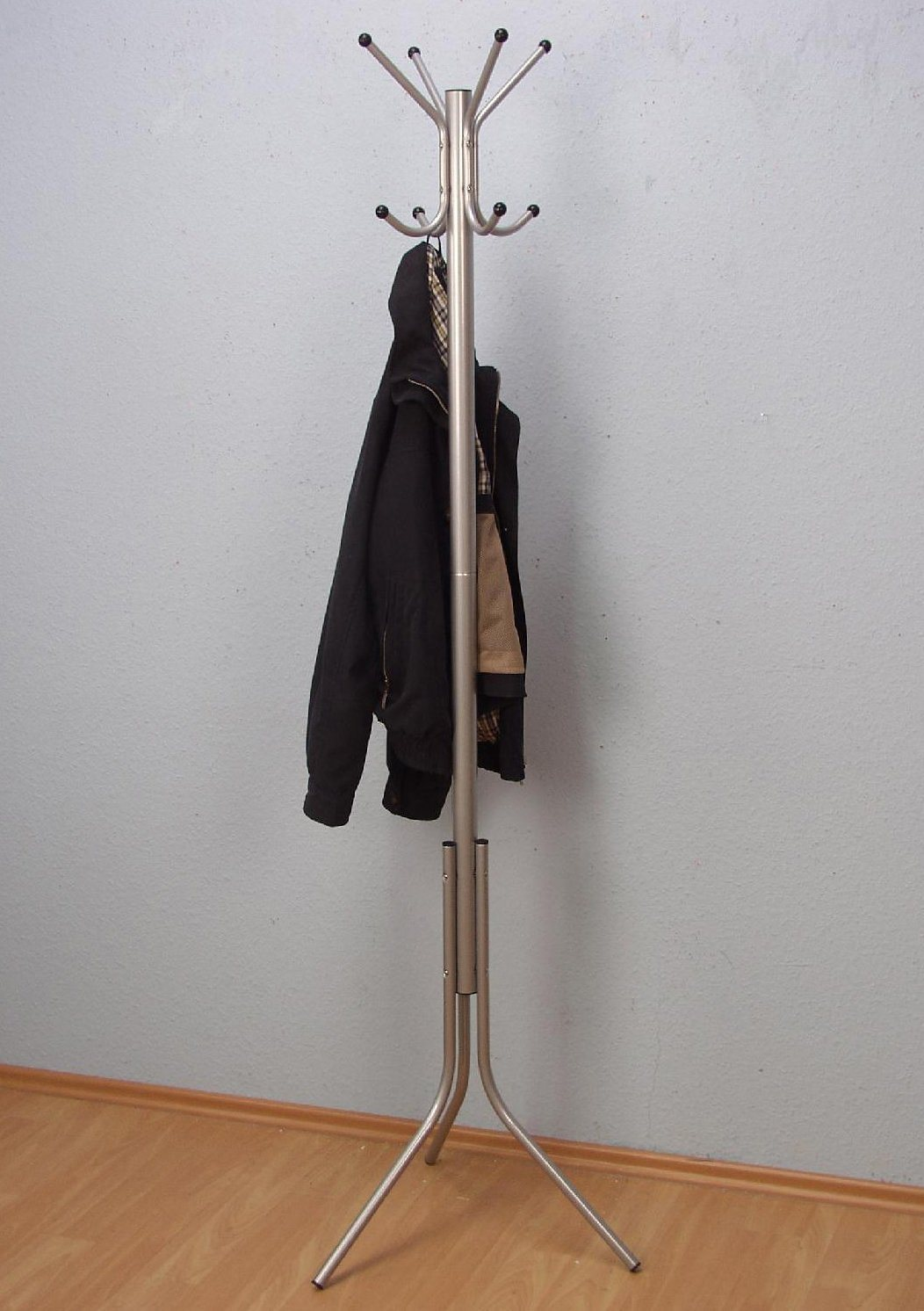 Kleiderständer   Flur & Diele > Garderoben > Garderobenständer   Weiß - Schwarz