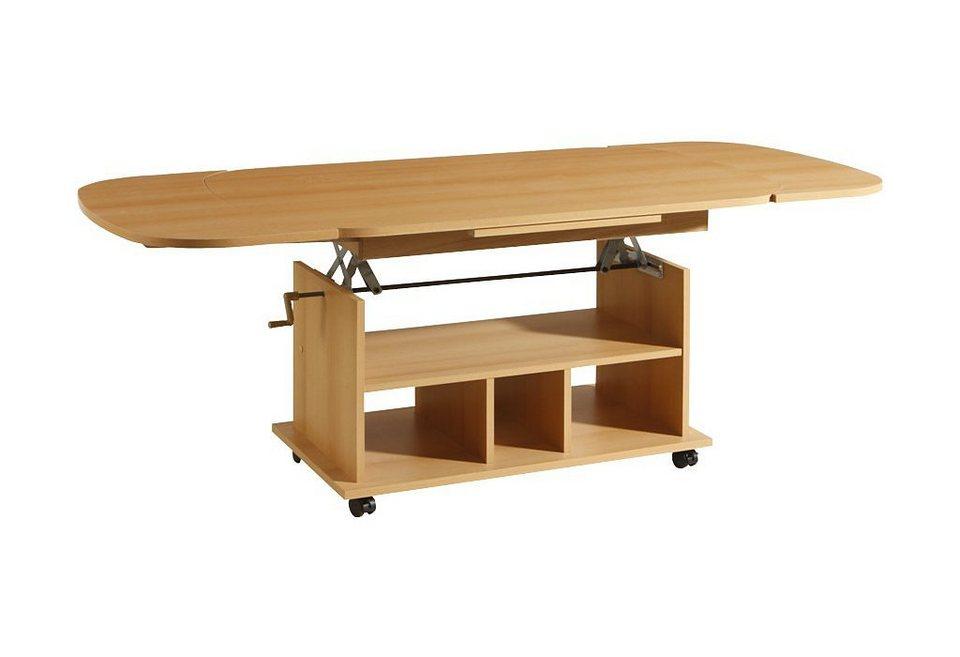 h henverstellbarer couchtisch online kaufen otto. Black Bedroom Furniture Sets. Home Design Ideas