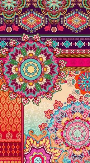 Strandtuch »Sherhia«, hip, mit Mandala