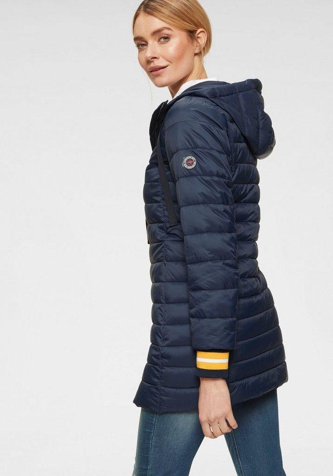 KangaROOS Langjacke mit modischen, kontrastfarbenen Details | Bekleidung > Jacken > Langjacken | Blau | KangaROOS