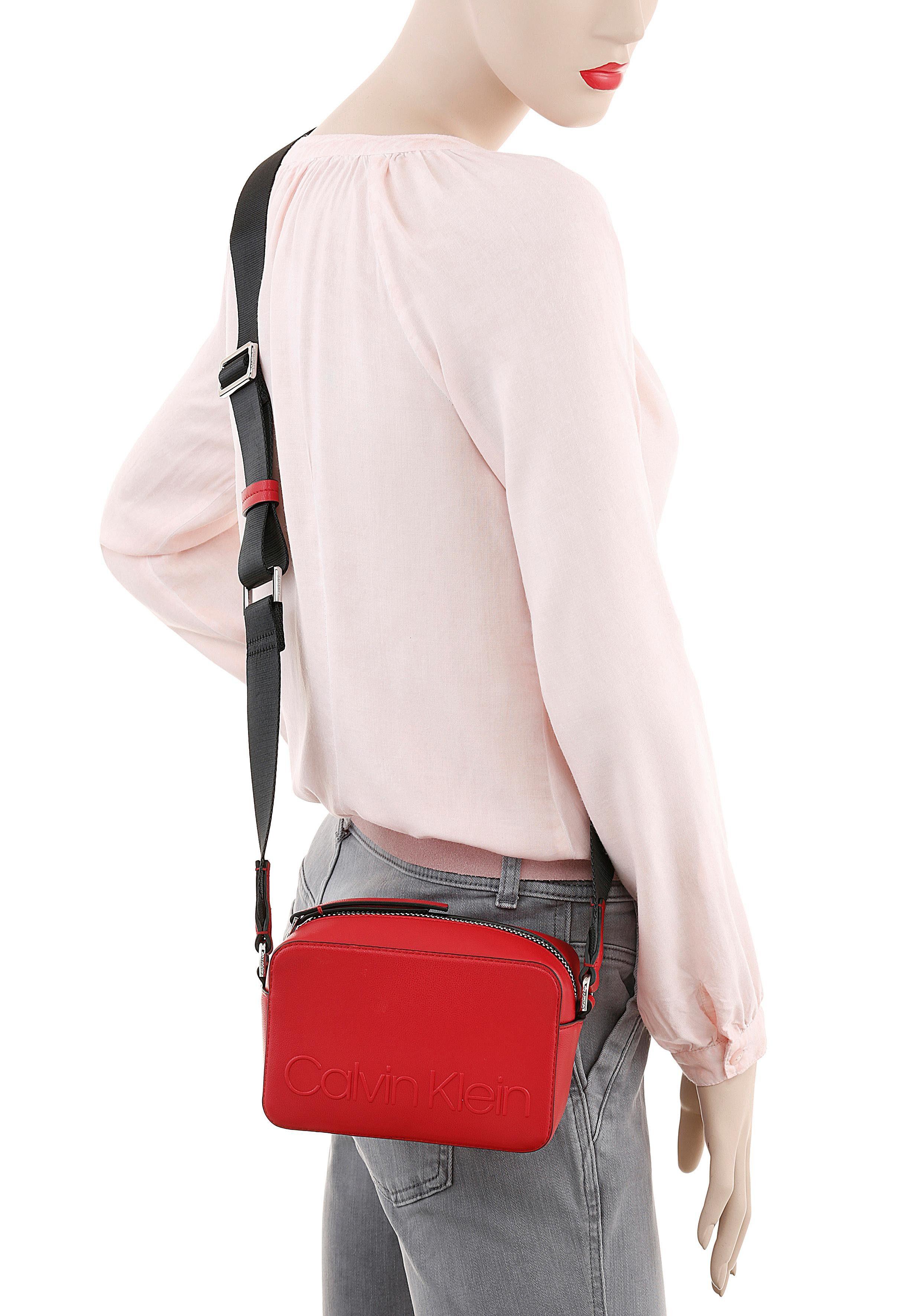 Praktischem Klein In Bag« Mini Format Bag »edged Calvin Camera 7On0TYwqTd