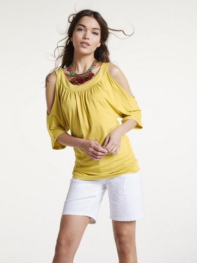 heine CASUAL Shirt mit Cut-Outs