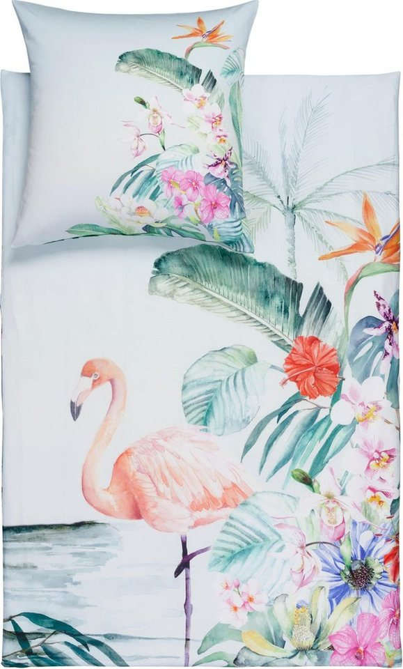 Bettwasche Flamingo Estella Mit Flamingo
