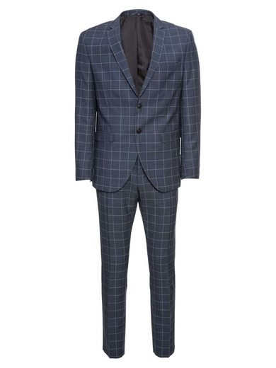 SELECTED HOMME Anzug »Myloair Check Suit B Ex«