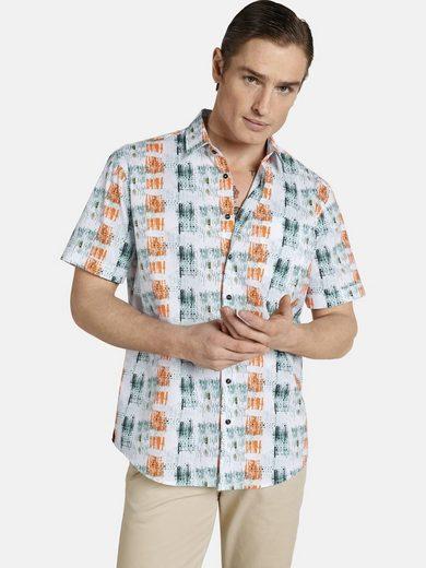 Schlussverkauf SHIRTMASTER Kurzarmhemd »icouldbeart« Baumwollhemd aus Cotton Satin