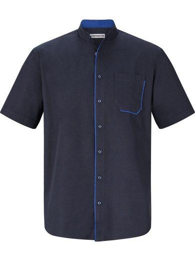 »latenight« Brusttasche Mit Kontrast Shirtmaster An Kurzarmhemd 0zxwzSO
