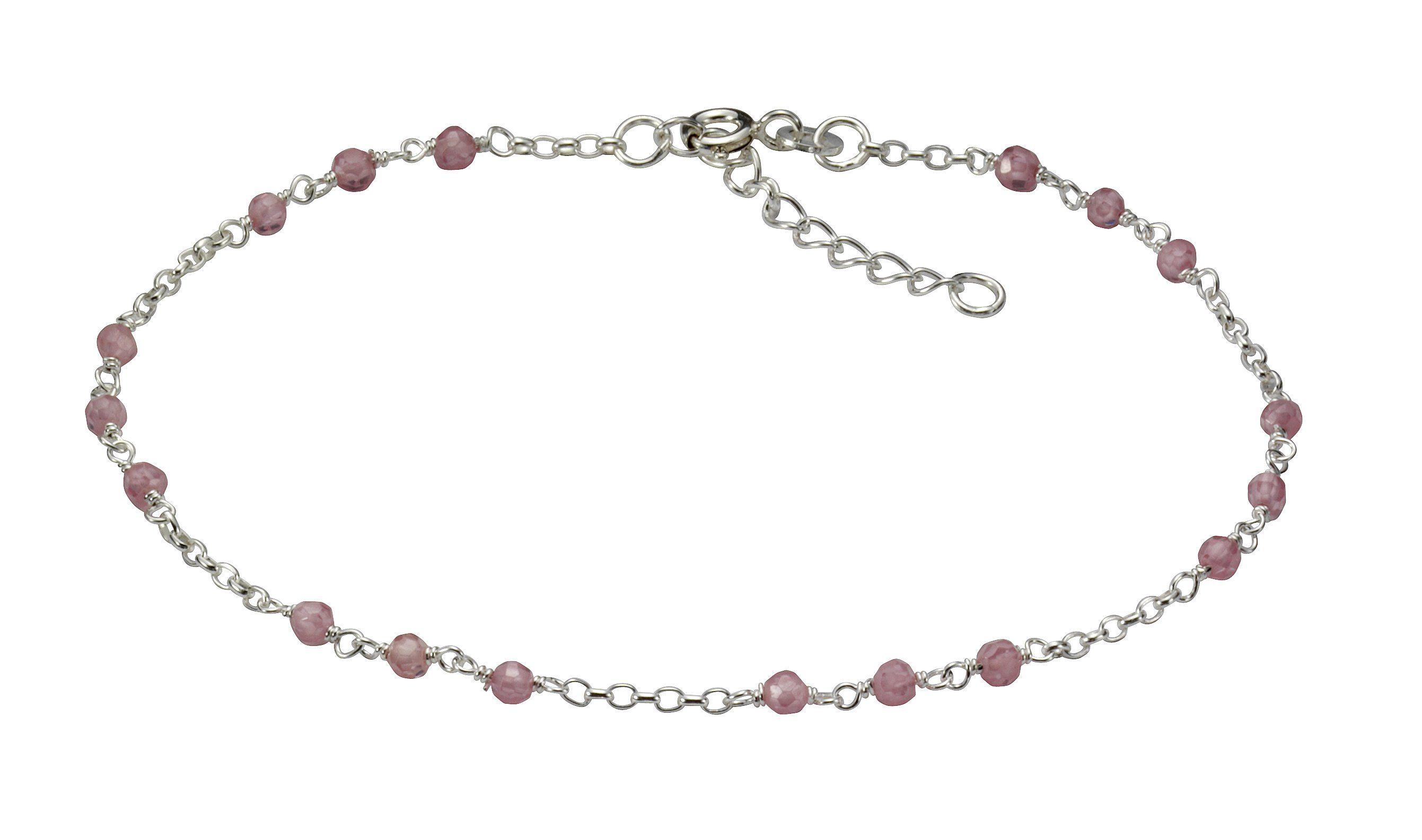 Vivance »925Sterling Kaufen Online Silber RhodKristalle« Fusskette pzGqSVUM