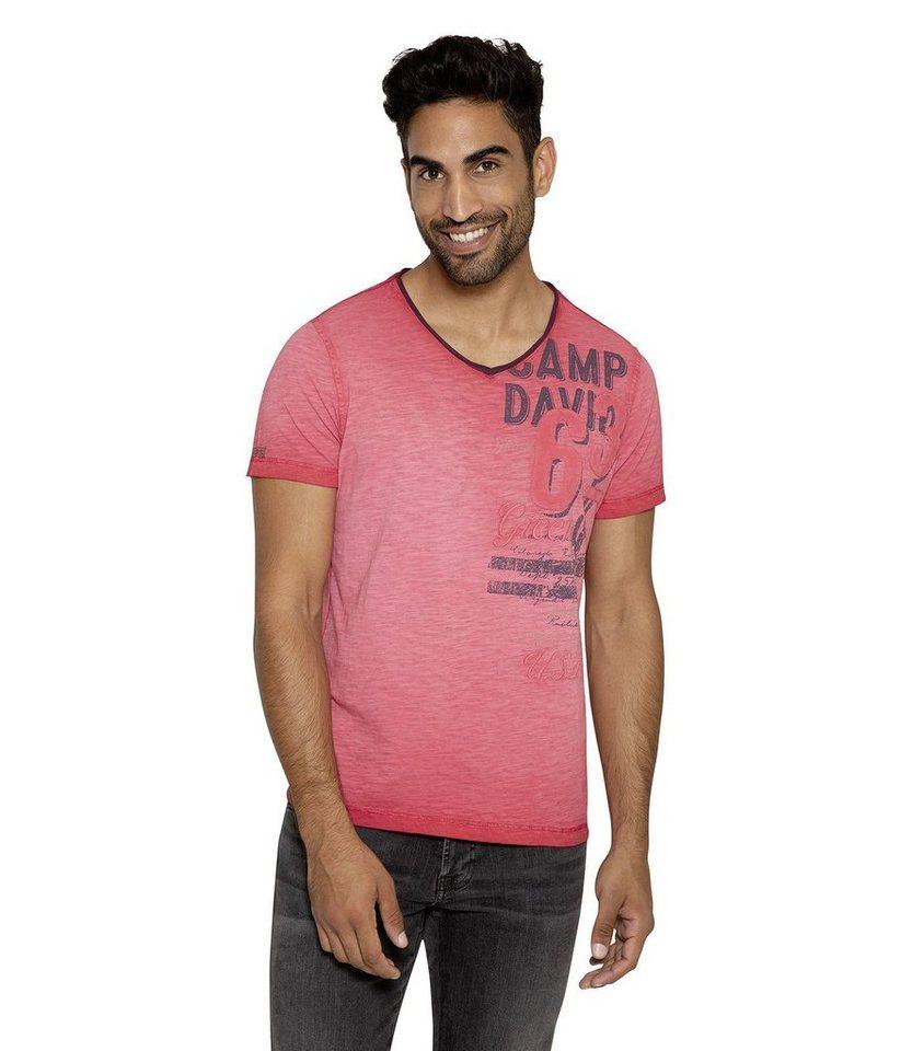 große Vielfalt Modelle professionelle Website niedrigster Rabatt CAMP DAVID T-Shirt mit Logodruck online kaufen | OTTO