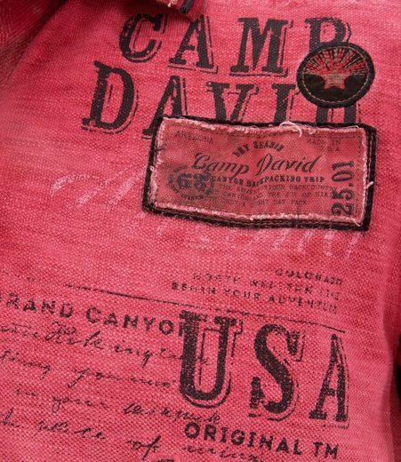 Mit Camp Kontraststreifen Camp David David Poloshirt Mit Poloshirt Poloshirt David Mit Kontraststreifen Camp Kontraststreifen U7fwq4z7t