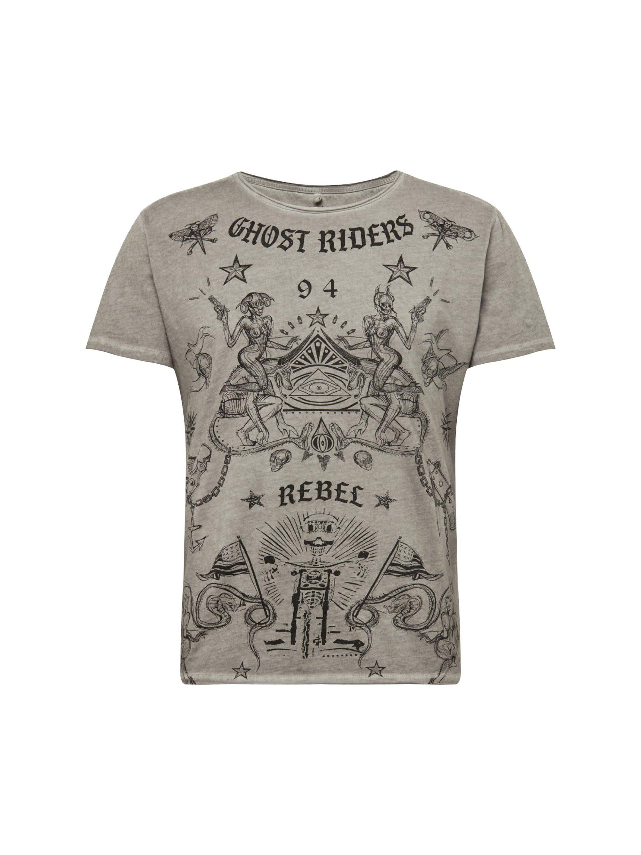 Key Largo Rundhalsshirt »GHOST«