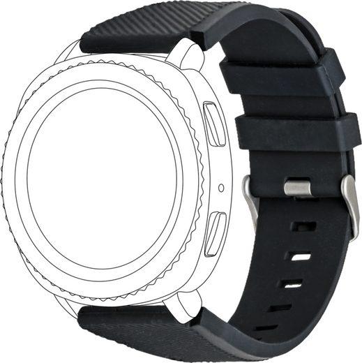 topp Accessoires Ersatz-/Wechselarmband »Silikon für Samsung/Garmin Watch«