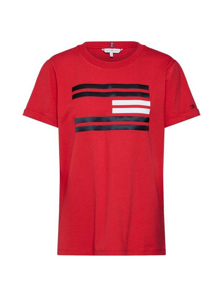 70674114d TOMMY HILFIGER Print-Shirt »TALITA C-NK TEE SS« | OTTO