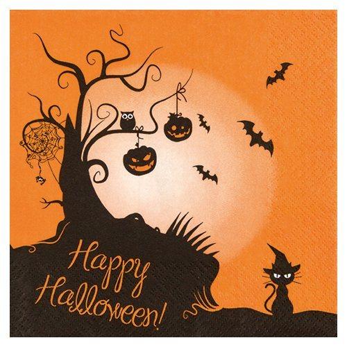 Serviette « Halloween »