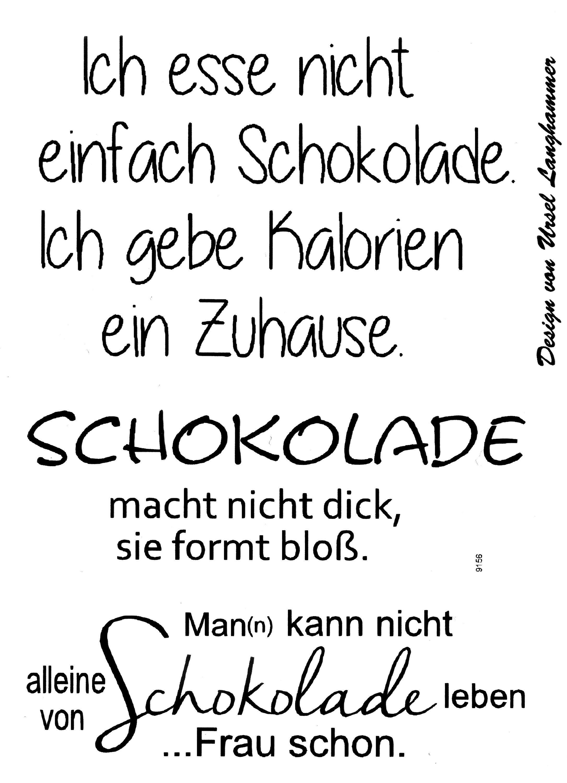 """Silikonstempel-Set """"Wir wünschen Dir"""" 5er-Set"""