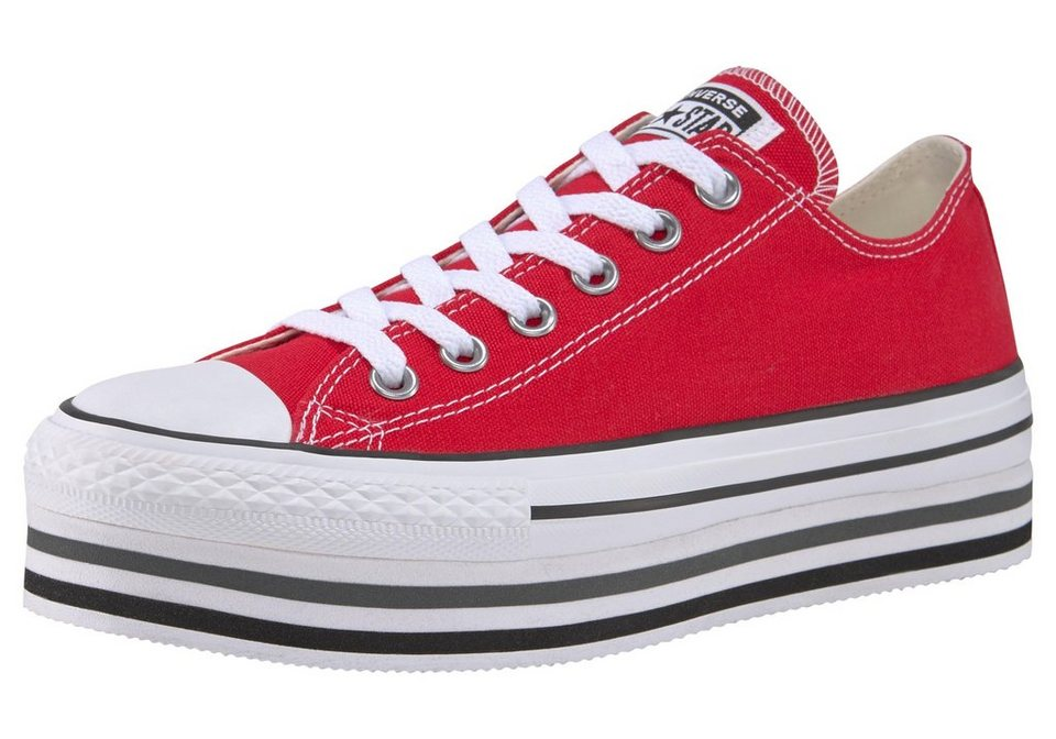 51f18c1af65 Converse »Chuck Taylor All Star Platform Layer Ox« Plateausneaker ...