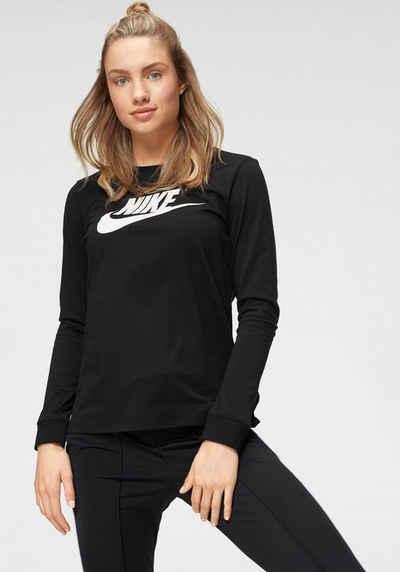 Nike Sportswear Langarmshirt »W NSW TEE ESSNTL LS ICON FTRA«