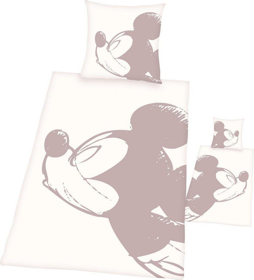 Wendebettwäsche Disneys Mickey Mouse Walt Disney Passende