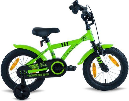 PROMETHEUS BICYCLES Kinderfahrrad »GREEN Hawk«, 1 Gang