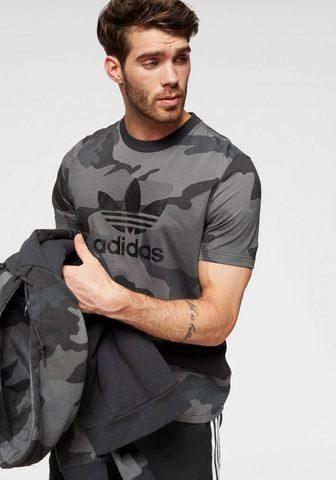 ADIDAS ORIGINALS Marškinėliai »CAMO TEE«