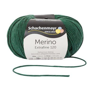 """Schachenmayr Wolle einfarbig """"Merino Extrafine 120"""" 50 g"""
