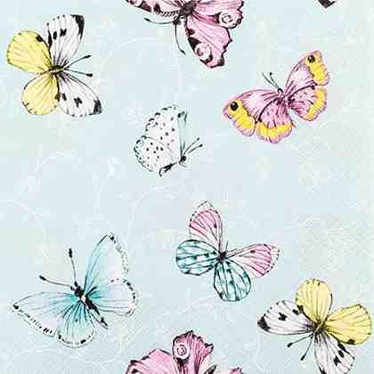 """Serviette """"Süße Schmetterlinge"""""""