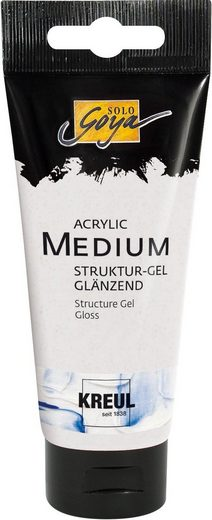 """Acrylgel """"Acrylic Medium Strukturgel"""" glänzend »Acrylgel """"Acrylic Medium Strukturgel"""" glänzend«"""