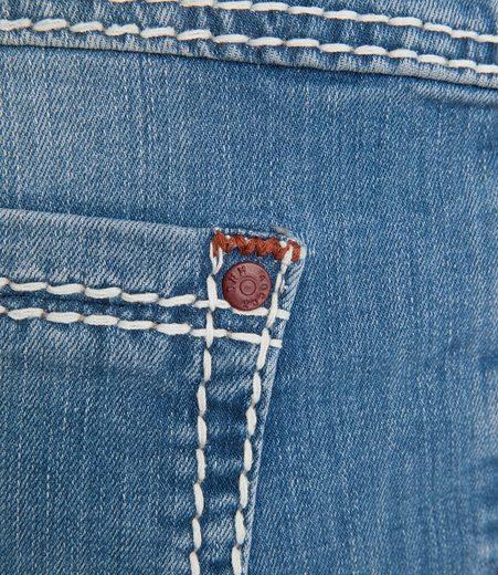 Breiten fit Nähten Soccx Regular Mit jeans H6nwCF