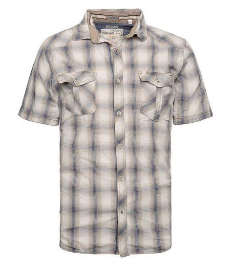 CAMP DAVID Kurzarmhemd mit Brusttaschen